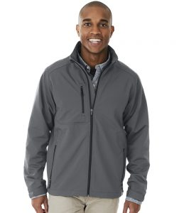 Charles River Men's Axis Soft Shell Jacket (9317) Steel Grey
