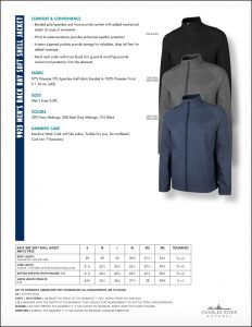 Charles River Men's Back Bay Soft Shell Jacket (9923) Colors and Sizes