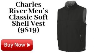 Charles River Men's Classic Soft Shell Vest (9819)