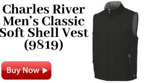 Charles River Men's Classic Soft Shell Vest (9819) For Sale
