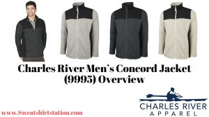 Charles River Men's Concord Jacket (9995) Colors and Styles