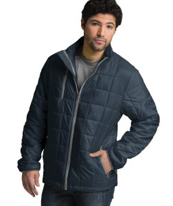 Charles River Men's Lithium Quilted Jacket (9540) Navy