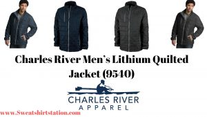Charles River Men's Lithium Quilted Jacket (9540) Overview and Colors