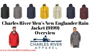 Charles River Men's New Englander Rain Jacket (9199) Banner