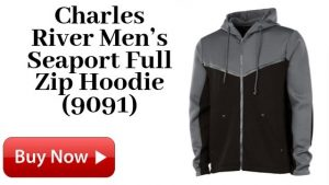 Charles River Men's Seaport Full Zip Hoodie 9091 For Sale