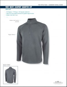 Charles River Men's Seaport Quarter Zip (9057)