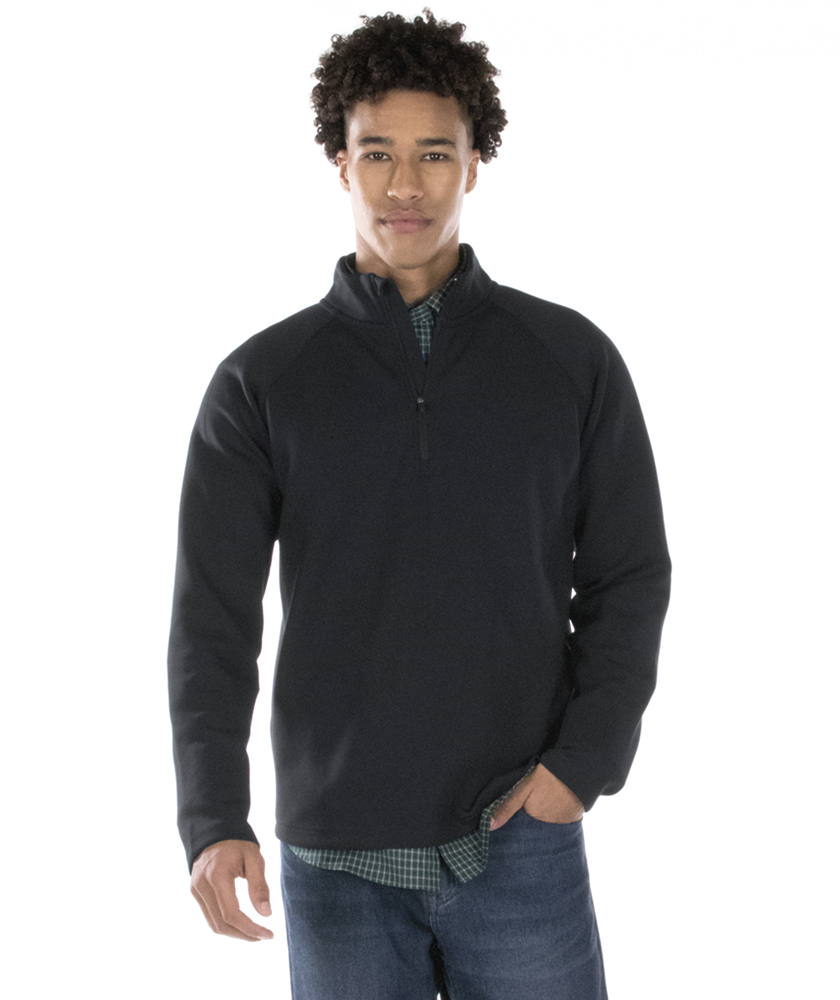 Charles River Men's Seaport Quarter Zip 9057 Style Black