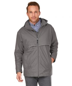 Charles River Mens new englander rain jacket