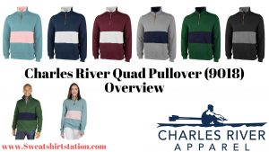 Charles River Quad Pullover (9018) Styles