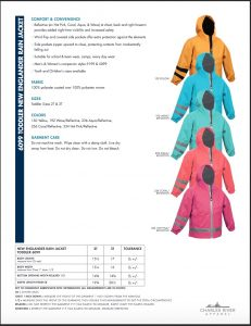 Charles River Toddler New Englander Rain Jacket (6099) Colors and sizes