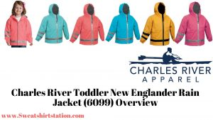 Charles River Toddler New Englander Rain Jacket 6099 colors