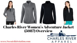 Charles River Women's Adventure Jacket (5087) Colors