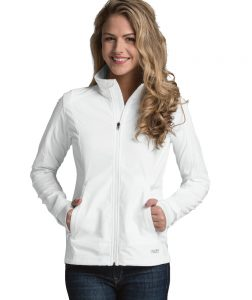 Charles River Women's Axis Soft Shell Jacket (5317) White