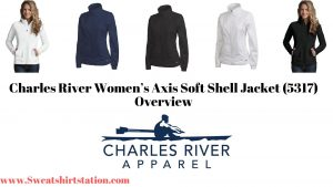 Charles River Women's Axis Soft Shell Jacket Overview