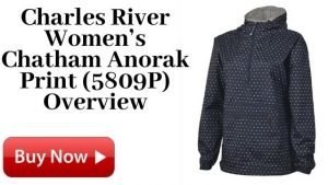 Charles River Women's Chatham Anorak Print (5809P) For Sale