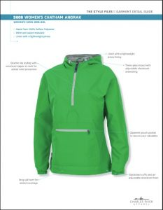 Charles River Women's Chatham Anorak Solid (5809)