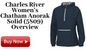 Charles River Women's Chatham Anorak Solid (5809) For Sale