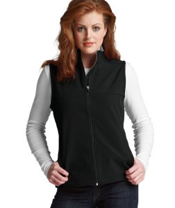 Charles River Women's Classic Soft Shell Vest (5819) Black Model