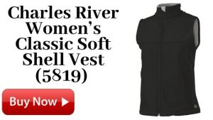 Charles River Women's Classic Soft Shell Vest (5819) For Sale