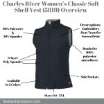 Charles River Women's Classic Soft Shell Vest (5819) Overview