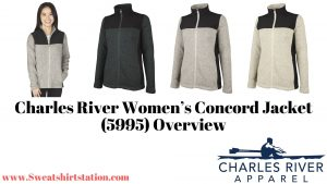 Charles River Women's Concord Jacket (5995) Style