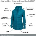 Charles River Women's Heron Hoodie (5697) Overview