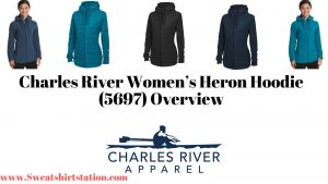 Charles River Women's Heron Hoodie Colors