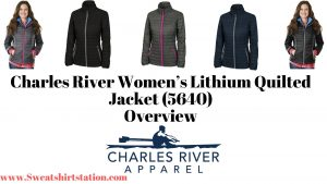 Charles River Women's Lithium Quilted Jacket (5640) Overview banner