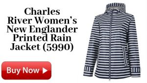 Charles River Women's New Englander Printed Rain Jacket (5990) For Sale