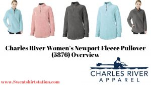 Charles River Women's Newport Fleece Pullover 5876