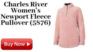 Charles River Women's Newport Fleece Pullover (5876) For Sale