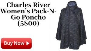Charles River Women's Pack-N-Go Poncho (5800) For Sale