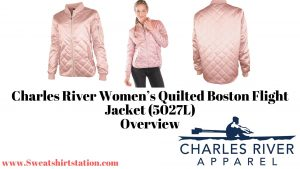 Charles River Women's Quilted Boston Flight Jacket (5027L)