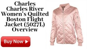 Charles River Women's Quilted Boston Flight Jacket (5027L) On Sale