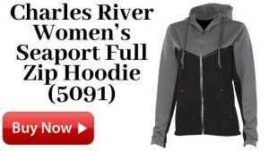 Charles River Women's Seaport Full Zip Hoodie (5091) For Sale