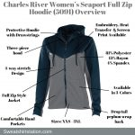 Charles River Women's Seaport Full Zip Hoodie (5091) Overview