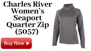 Charles River Women's Seaport Quarter Zip (5057) For Sale