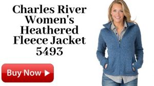 Charles River Women's Heathered Fleece Jacket 5493
