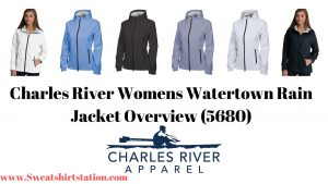 Charles River Womens Watertown Rain Jacket Overview (5680)