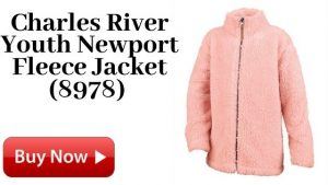 Charles River Youth Newport Fleece Jacket (8978) For Sale