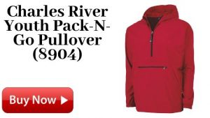 Charles River Youth Pack-N-Go Pullover (8904) For Sale