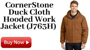 CornerStone Duck Cloth Hooded Work Jacket For Sale