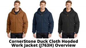 CornerStone Duck Cloth Hooded Work Jacket (J763H) Styles and Colors