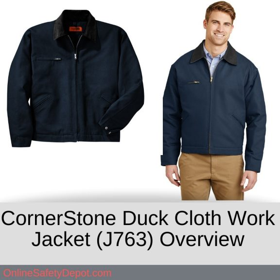 CornerStone Duck Cloth Work Jacket (J763) Overview