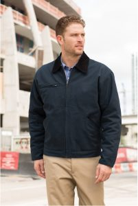 CornerStone Duck Cloth Work Jacket Model Navy