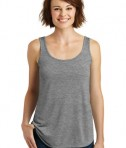 District Made - Ladies Drapey Tank Style DM414 - Grey