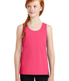 District Girls The Concert Tank - Neon Pink