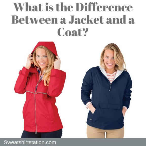 Difference between a jacket and a coat