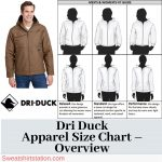 Dri Duck Apparel Size Chart – Overview