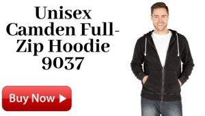 For Sale Unisex Camden Full-Zip Hoodie 9037